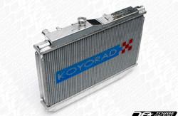Koyo Aluminum V-Core Racing Radiator - 07-08 Nissan 350Z VQ35HR (MT)