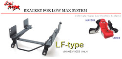 BRIDE LF-Type Seat Rails Honda S2000 AP1 Low Max