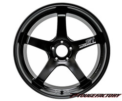 ADVAN Racing GT Semi Gloss Black: 20x12 (5x114.3)