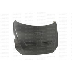 Seibon OEM-style carbon fiber hood for 2008-2010 Mitsubishi Lancer EVO X