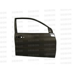 Seibon OEM-style carbon fiber doors for 2003-2007 Mitsubishi Lancer EVO (FRONT) *OFF ROAD USE ONLY!