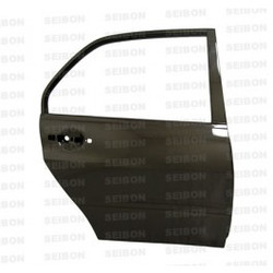 Seibon OEM-style carbon fiber doors for 2003-2007 Mitsubishi Lancer EVO (REAR) *OFF ROAD USE ONLY!