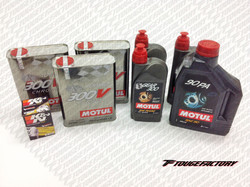 Complete Fluid Change Nissan 240SX S13 S14 - Motul 300V Engine Oil Package - Oversize