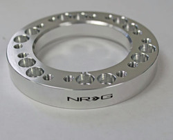 "NRG 1/2"" Steering Wheel Hub Spacer Adapter Nardi to Momo - Silver"