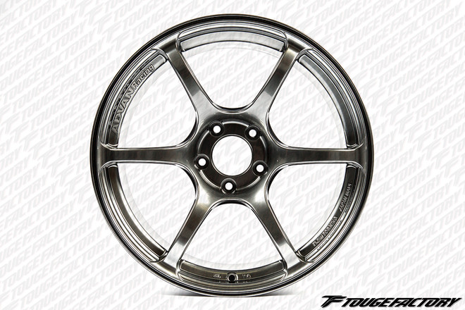 Advan RGIII - Racing Hyper Black - 5x114.3 - 6-Spoke - 19x9.0 (+51/+35/+25)