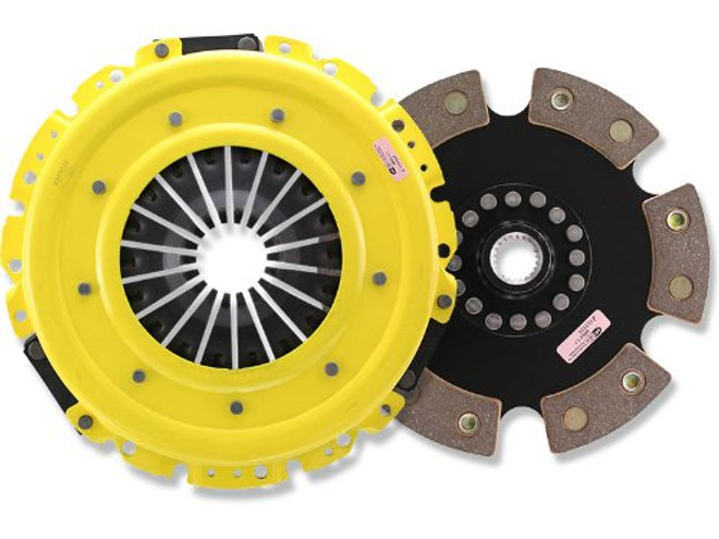 ACT HD Pressure Plate with Race Rigid 6-Pad Clutch Disc - 15-16 Ford Mustang GT/EcoBoost