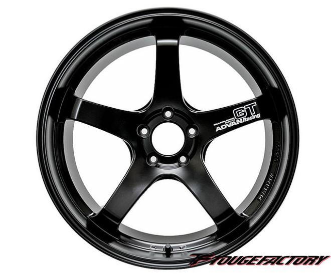 ADVAN Racing GT Semi Gloss Black: 20x12 (5x114.3)