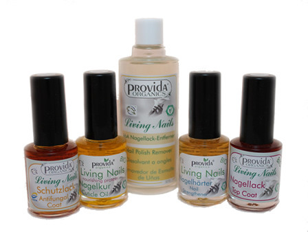 Provida Organic Natural Nail Care