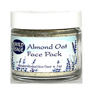 Wild Sage Almond Oat Face Pack