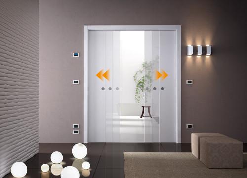 Eclisse double sliding door kit - Porte a galandage eclisse ...