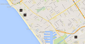 BikeAttack Locations