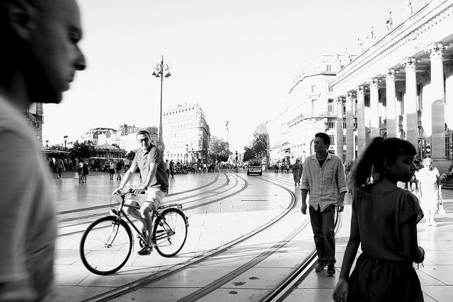 Biking, Bordeaux, France