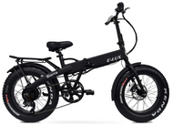 Elux Electric: Sierra Folding Bike | 2018 Black