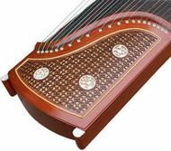Kaufen Acheter Achat Kopen Buy Professional Level Red Sandalwood Guzheng Instrument Chinese Harp