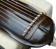 Kaufen Acheter Achat Kopen Buy Premium Quality Aged Fir Wood Guqin Chinese 7 String Zither Duan Wen Banana Leaf Style