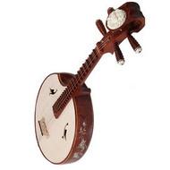 Buy Premium Quality Aged Rosewood Zhongruan Instrument Chinese Mandolin Ruan