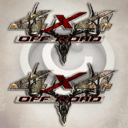 4x4 nissan frontier camo truck decals twisted timber