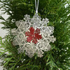 Banksia nut snowflake
