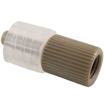1-Way PEEK Adapter MLL 1/4-28 Internal Standard Thread (Individual)