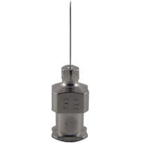"Hypodermic Needles 32g x 1/2"" Plated Brass Hub (Box of 12)"