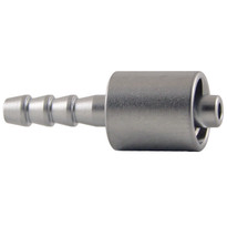 MLL to 4mm Hose End (Plated Brass) (Individual)