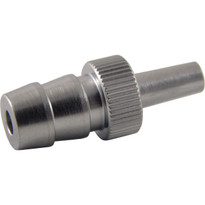 ML to 8mm Hose End (Plated Brass) (Individual)