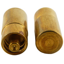 "Unslotted Brass MLL Blank .875"" Long (Individual)"