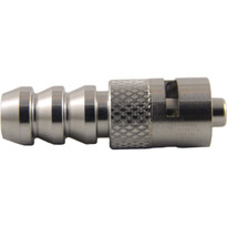 "MLL to 1/4-5/16"" Hose End (Stainless Steel) (Individual)"