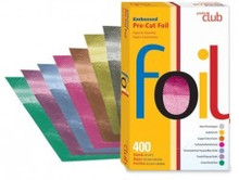 Product Club Embossed Pre-Cut Foil Silver 400ct