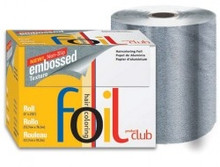 Product Club Non-slip Embossed Texture Roll Foil - Silver