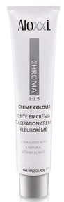 Aloxxi Chroma 8N Permanent Hair Color.
