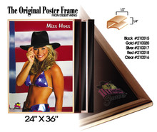 "Poster Frame 24"" x 36"" Black Trim"