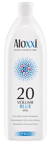 Aloxxi 20 Volume Blue Creme Developer, 1 Liter