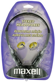 Maxell Stereo Headphones. HP-200