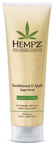 Hempz Body Scrub Sandalwood and Apple 9oz