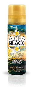 Brown Sugar Aloha Black 200x Bronzer 7oz