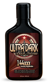 Hoss Sauce Ultra Dark Black Intense 144xxx Bronzer Lotion 9oz