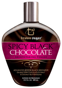 Brown Sugar Spicy Black Chocolate Tanning Lotion, 13.5oz