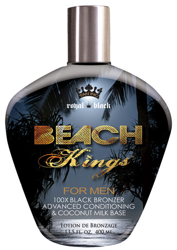 Tan Inc Beach Kings Tanning Lotion with 100X Bronzers, 13.5oz