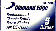 Diamond Edge Replacement Razor Blades, DE-7001