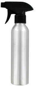 Soft 'n Style Silver Aluminum Spray Bottle, 10oz