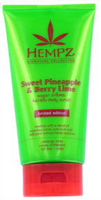 Hempz Signature Collection Sweet Pinepple & Berry Lime Sugar Creame Herbal Body Scrub