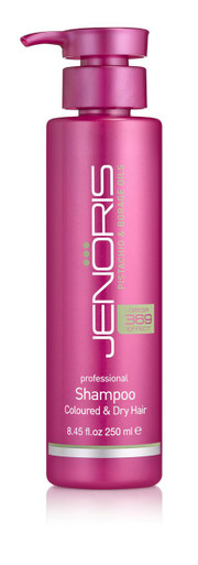 Jenoris Coloured & Dry Hair Shampoo,  8.45 fl oz