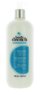 Body Drench Unscented Moisturizing Daily Lotion, 16.9 fl oz