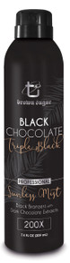 Brown Sugar Black Chocolate Triple Black Professional Sunless Mist, 7.8oz