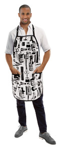 Vintage Barber Apron by Betty Dain