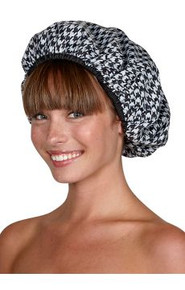 Betty Dain Houndstooth Shower Cap