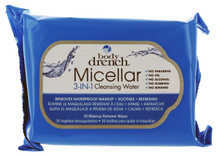 Body Drench Micellar 3 In 1 Cleansing Water Wipes 30 Count.