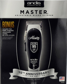 Andis Master Adjustable Blade Clipper. 95th Anniversary Limited Edition
