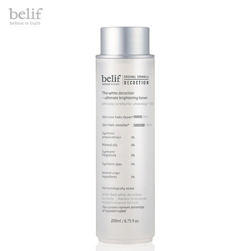 Belif The White Decoction - Ultimate Brightening Toner